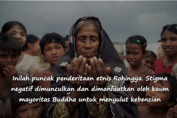 Di Myanmar, tak ada satu pun muslim Rohingya yang tersisa