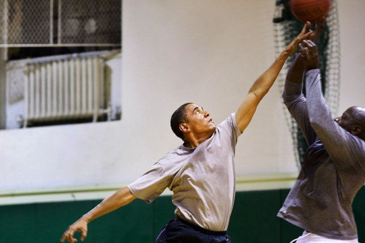 Basket itu cintanya Obama (Setelah Michelle loh ya)