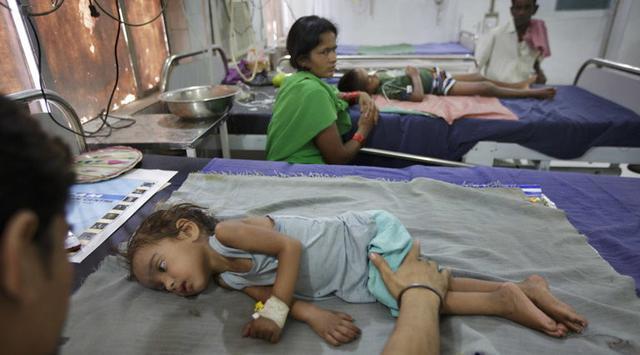 setiap musim panas, rumah sakit di wilayah kota ini akan penuh dengan anak-anak