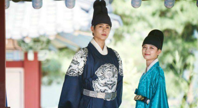 Park Bo Gum dalam Love in The Moonlight