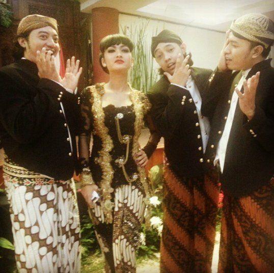 Jupe aja pernah dapat gelar dari Keraton Kasunanan Surakarta Hadiningrat (Solo)