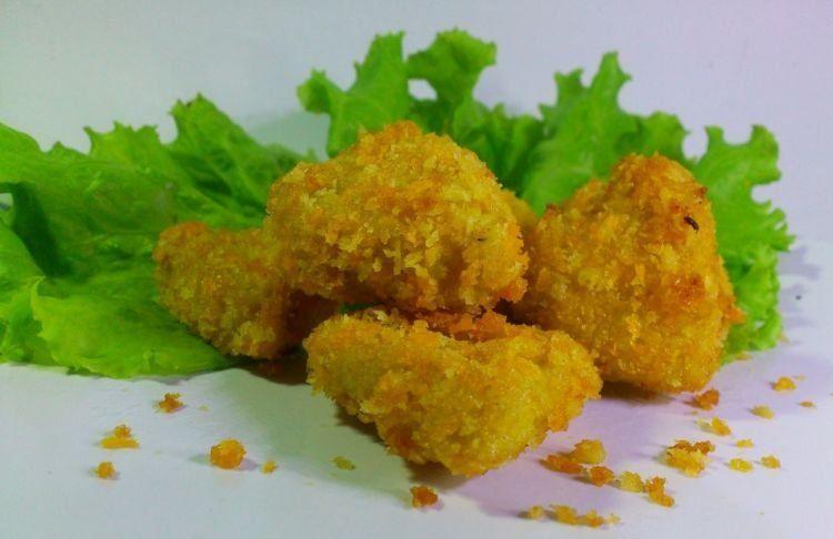 nugget ayam jamur