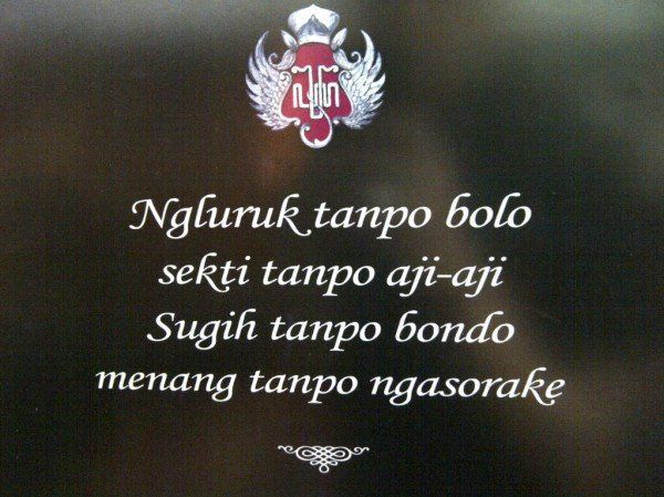 Kata Bijak Bahasa Jawa Kuno Sunan Kalijaga Black Friday
