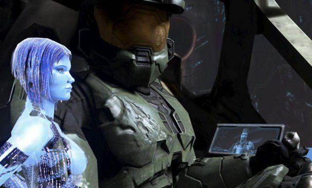 Master Chief dan Cortana (Halo)