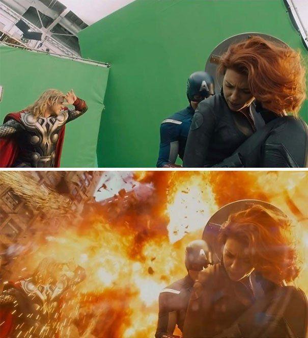 Ledakan aja CGI!