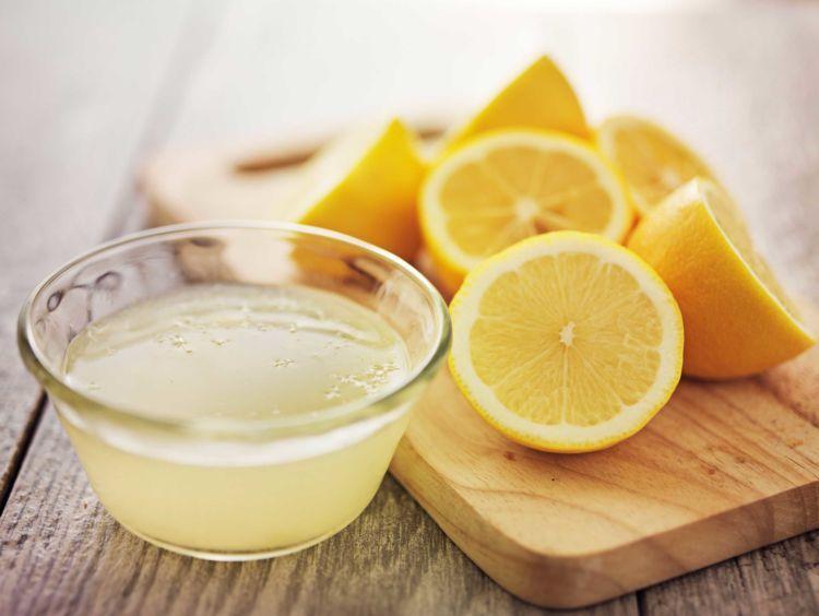 perasan jeruk lemon