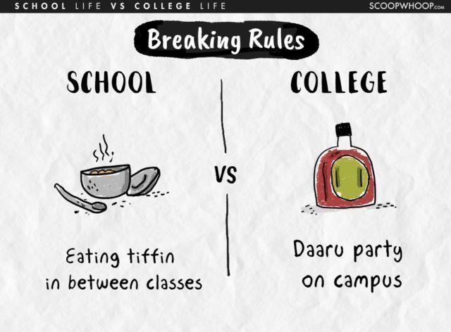 Makan Dikelas Vs Mabok-mabokan di kampus