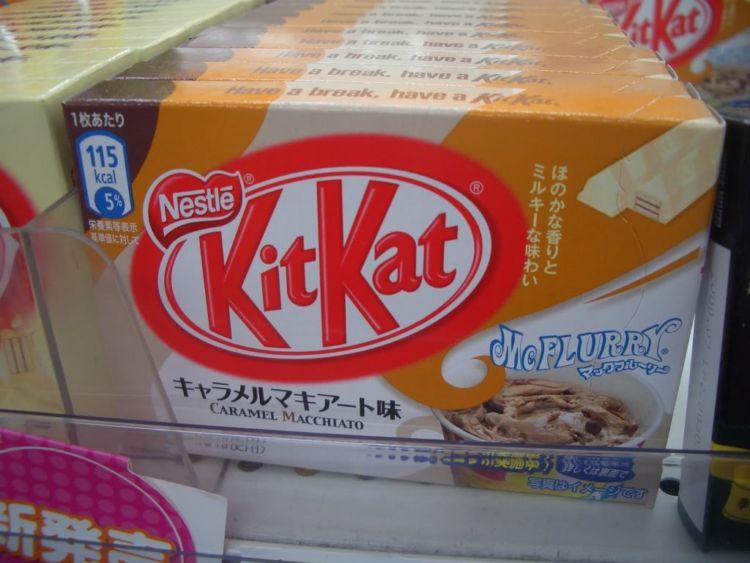 Padahal McFlurry juga terkenal di Indonesia, tapi Kit Kat-nya belum sampai sini