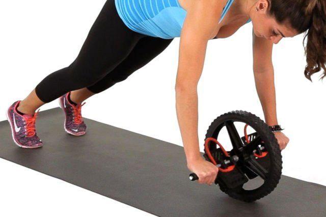Core training wheel