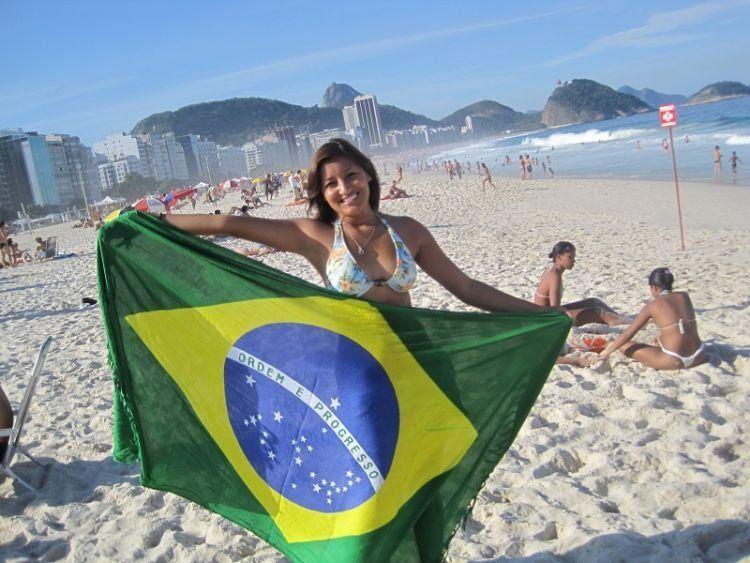 Karena gaya hidupnya yang dekat pantai, orang-orang Brazil