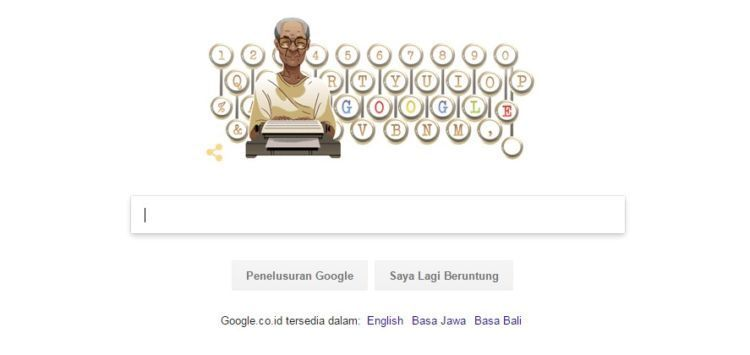 google-doodle-hari-lahir-pramodya-ananta-toer-ke-92