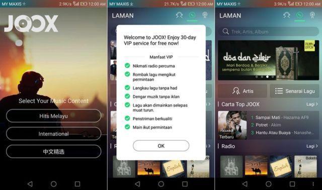 Aplikasi streaming musik paling populer?