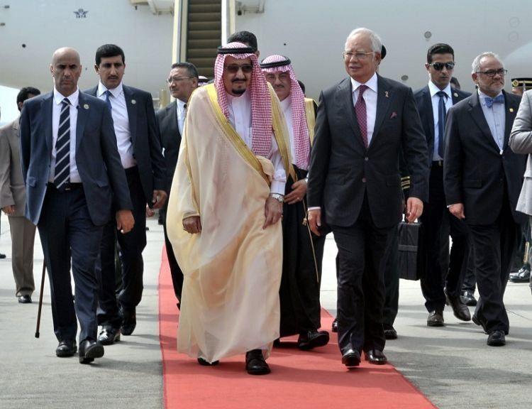 Rombongan Arab Saudi tiba di Malaysia