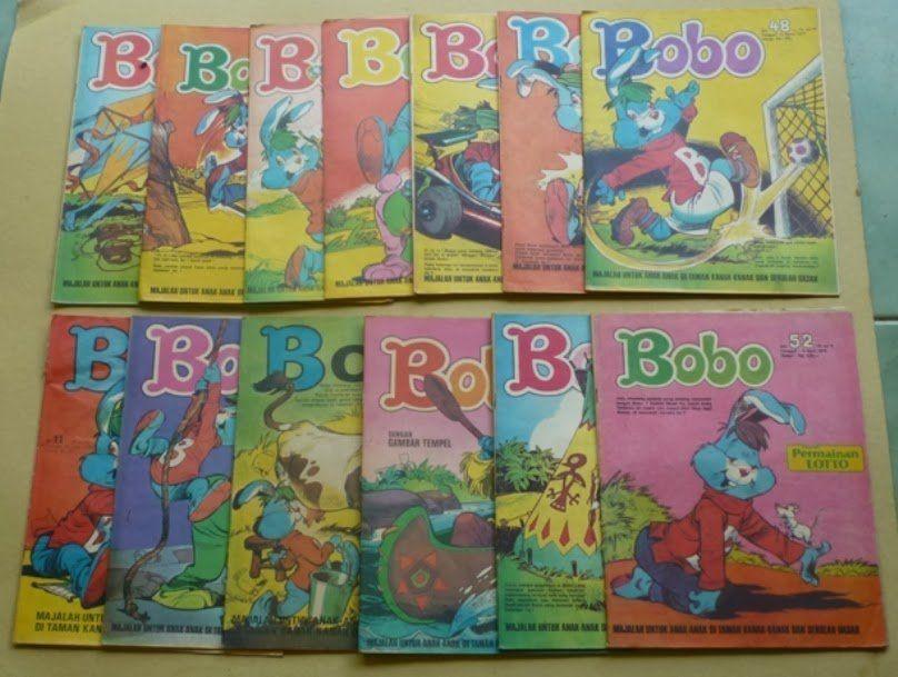 Anak zaman sekarang nggak ada yang kenal Bobo. :(