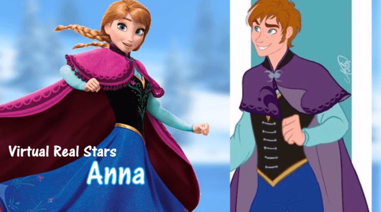 Elsa versi cowok juga nggak kalah menarik