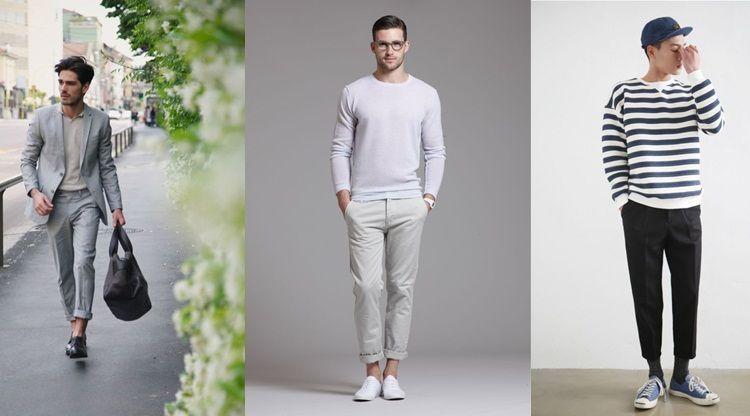 12 Inspirasi Celana Ngatung Untukmu Cowok Yang Ingin Tampil Trendi Kekinian Biar Makin Hits Gitu