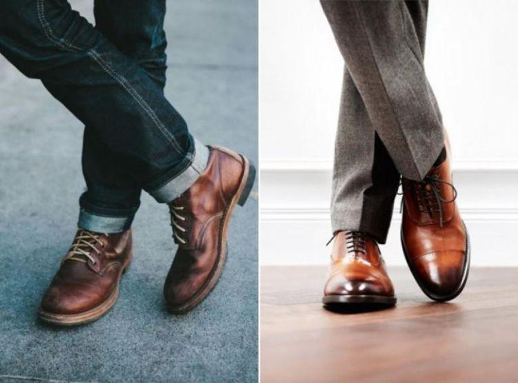 usahakan agar sepatunya selalu bersih!