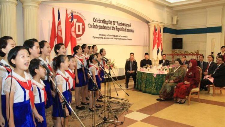 Orang Indonesia cenderung suka dengan Korea Utara