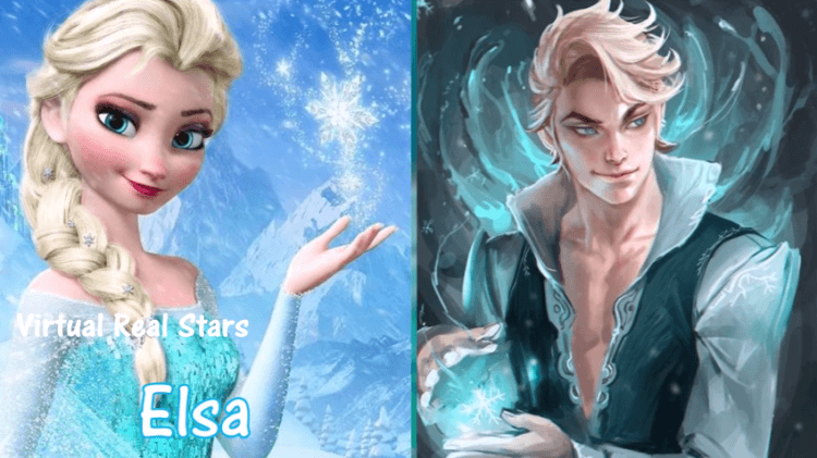 Elsa versi cowoknya kok ganteng banget yaa