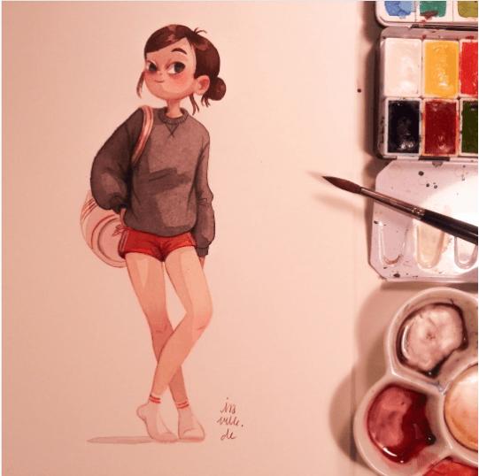 101+ Gambar Animasi Keren Untuk Perempuan Paling Hist