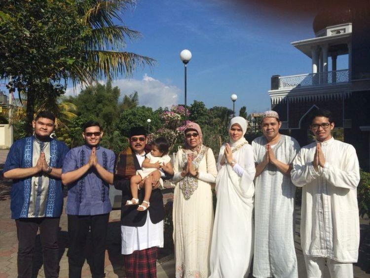 Lebaran bersama keluarga suami