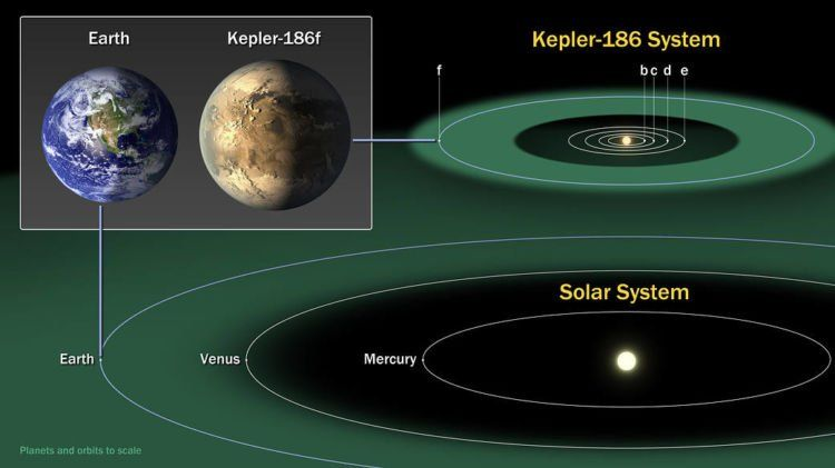 Bumi dan Kepler-186f