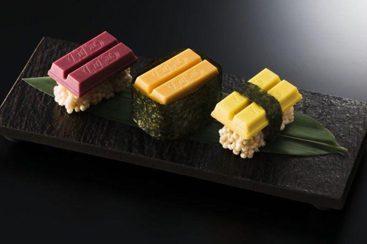 Sushi! Kok ya kepikiran...