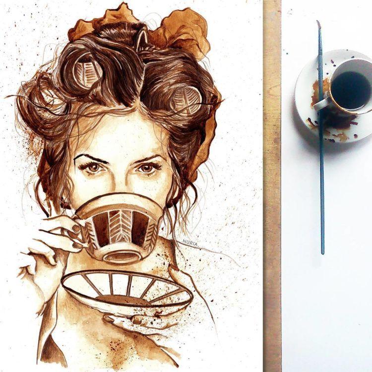 kopi dalam kopi.