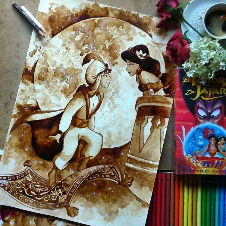 Aladdin dan Jasmine.