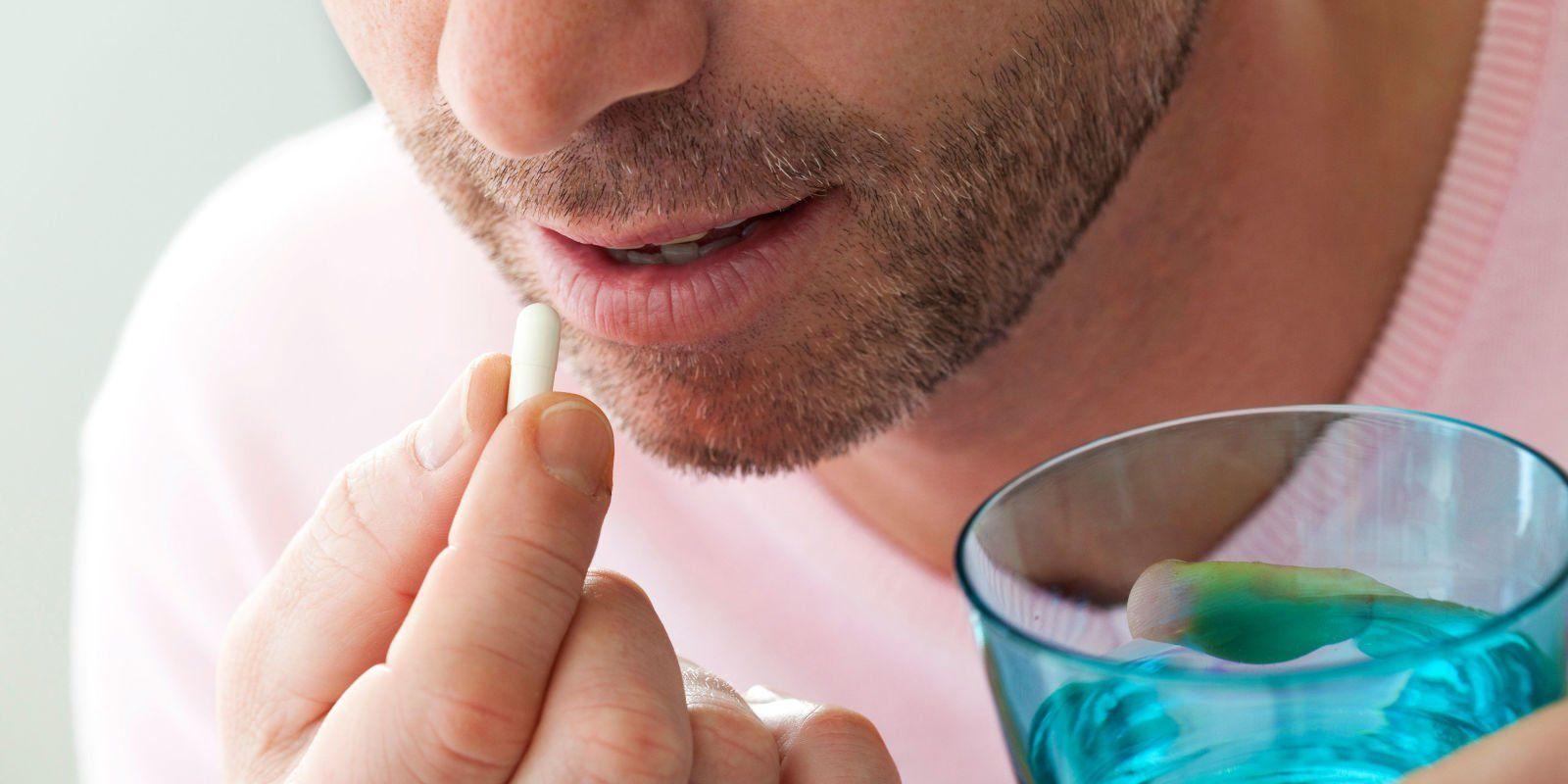 Diminum obat dulu