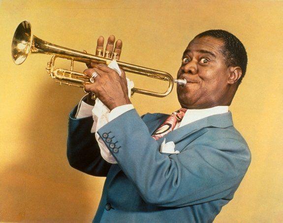 ini nih Louis Armstrong