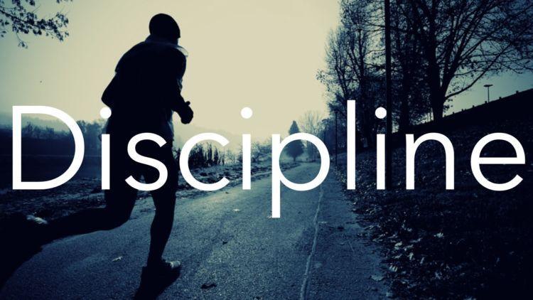 disiplin dan pantang menyerah