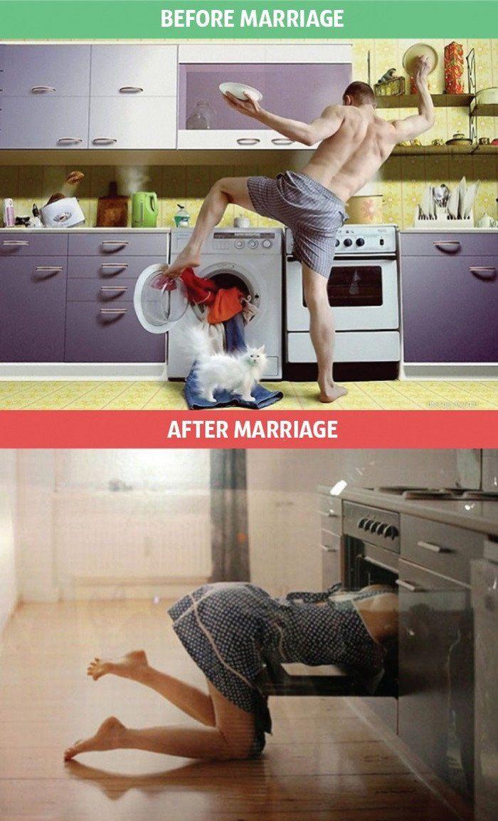 tapi soal mencuci dan masak jadi aman terkendali.