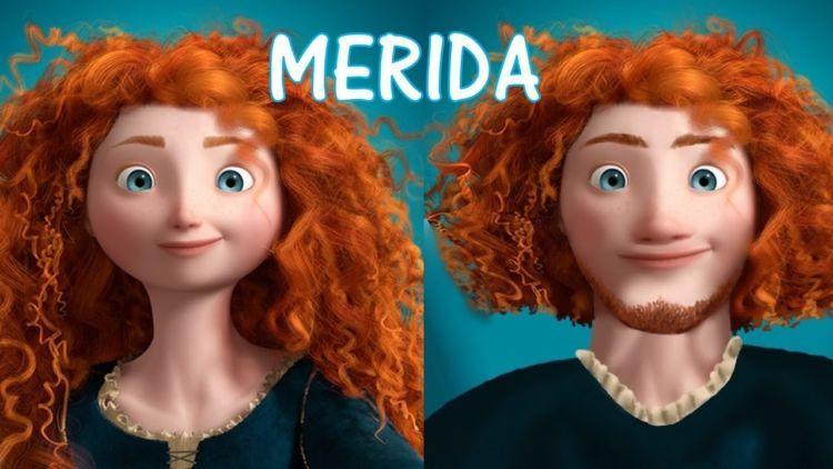 Merida di film 'Brave'