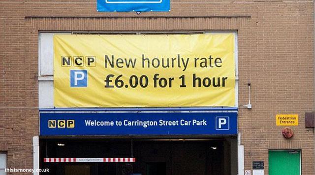 berani parkir di sini?