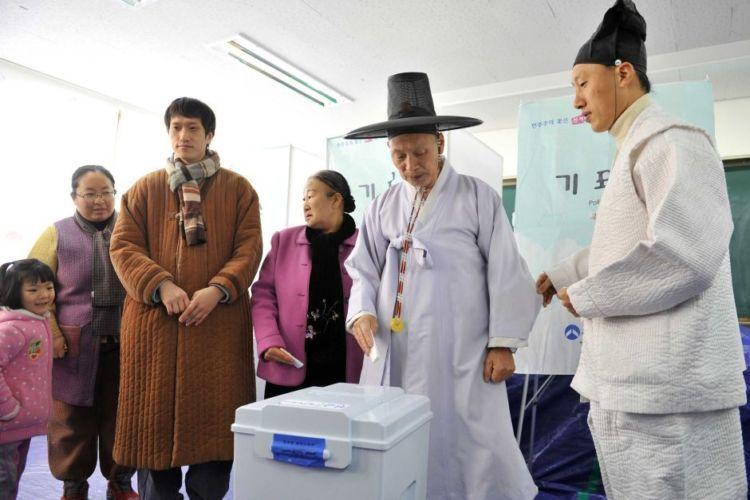 Pemilu di Korea Selatan