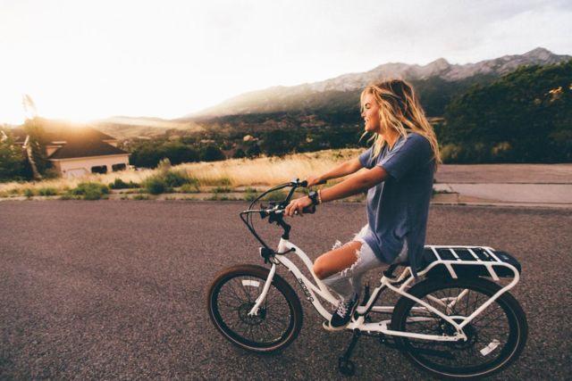 Badan bagus karena sering bersepeda
