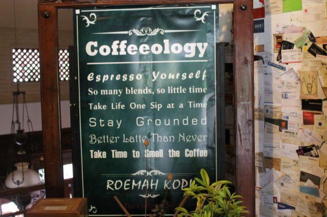 Jalan2, makan2 ke roemah kopi yang homey