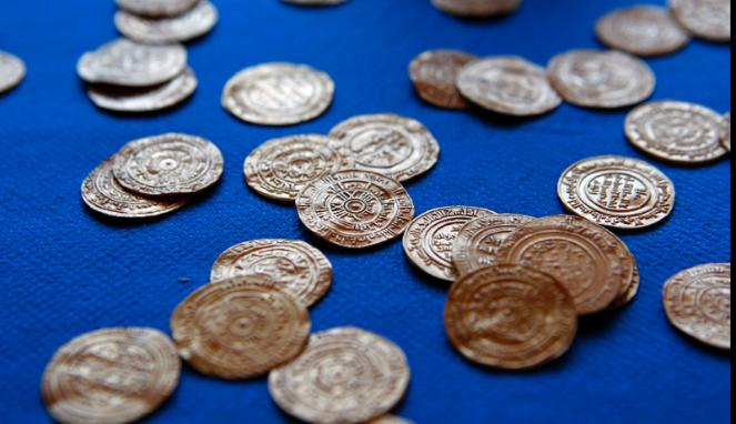 Koin emas bertulis Arab
