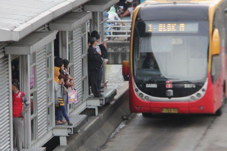 Halte bushway Jakarta