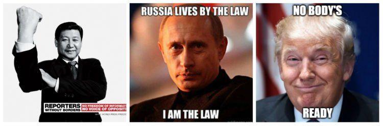 Presiden masing-masing negara