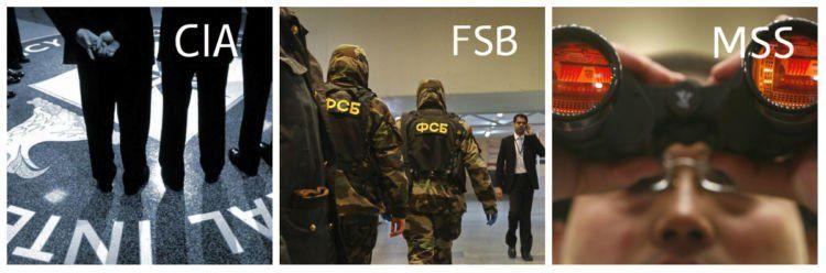 CIA yang serba rahasia, FSB yang terang-terangan, dan MSS yang pelan tapi pasti
