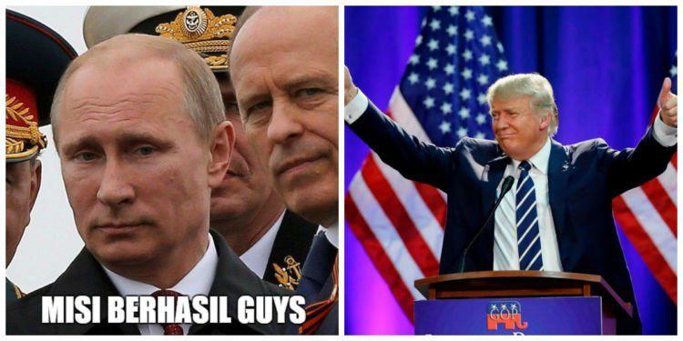 Putin ahli main belakang