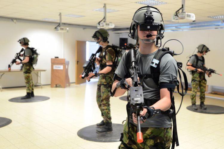 Latihan militer Amerika udah pake VR