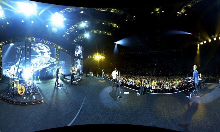"Ini konser grup ""a ha"" asal Norwegia pada 2016 kemarin"