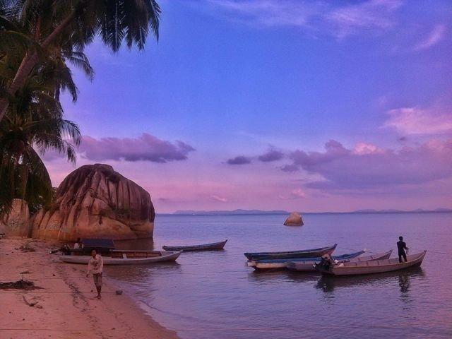 Pantai Bakit, Parittiga, Bangka Barat