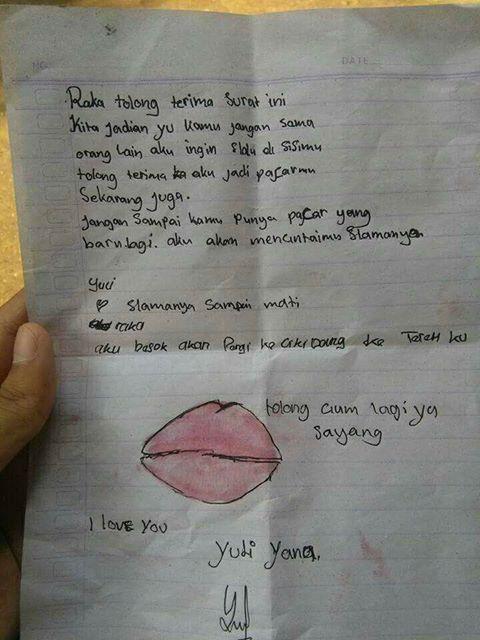 Inilah Surat Cinta Yang Ditulis Bocah Sd Lagi Kasmaran