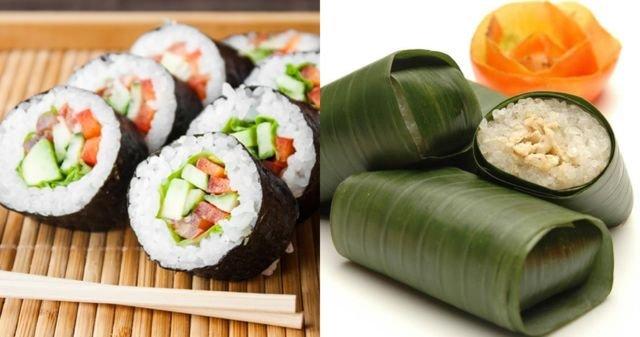 Sushi vs lemper