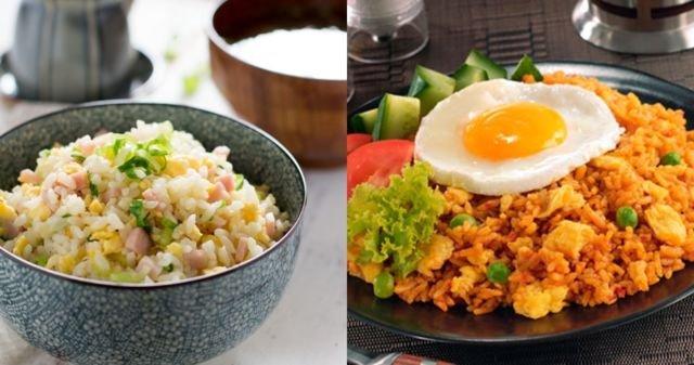 Yaki vs nasi goreng