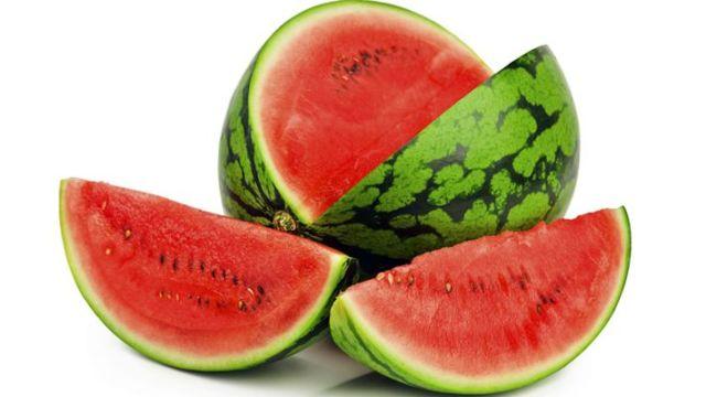 Ramping dengan buah semangka